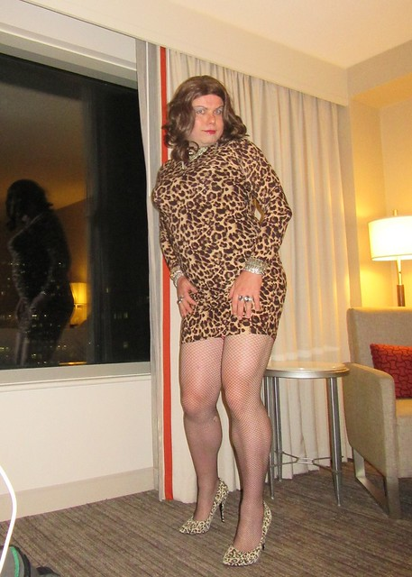 window posing in Virginia hotel