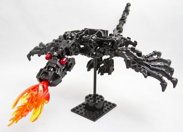 Dragon closeup