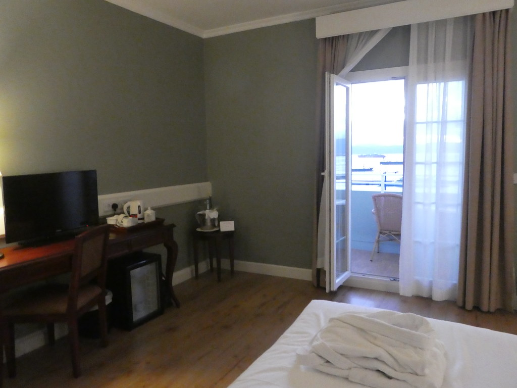 Sea view room, Rock Hotel, Gibraltar