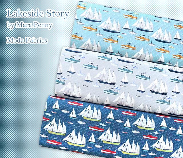 Moda Fabrics Lakeside Story by Mara Penny