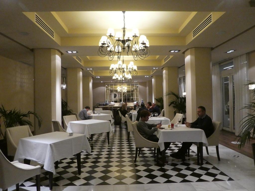 Terrace Restaurant, Rock Hotel, Gibraltar