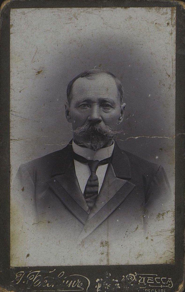 18. Шилюк-Шиленко Евтихий Евтихиевич, бывший механик РОПиТа. Фотография Г. Бескина. 1900-е