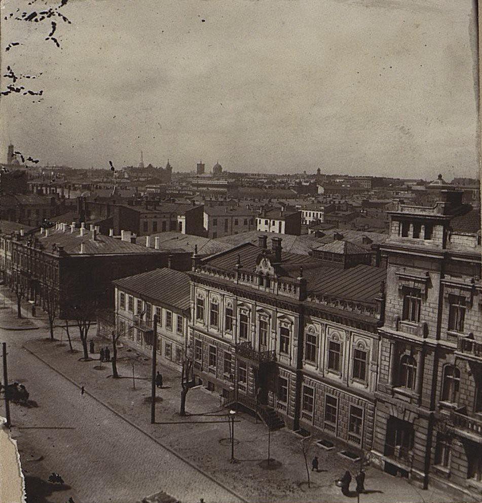 01. Дома на Троицкой улице. 1911-1914 гг.