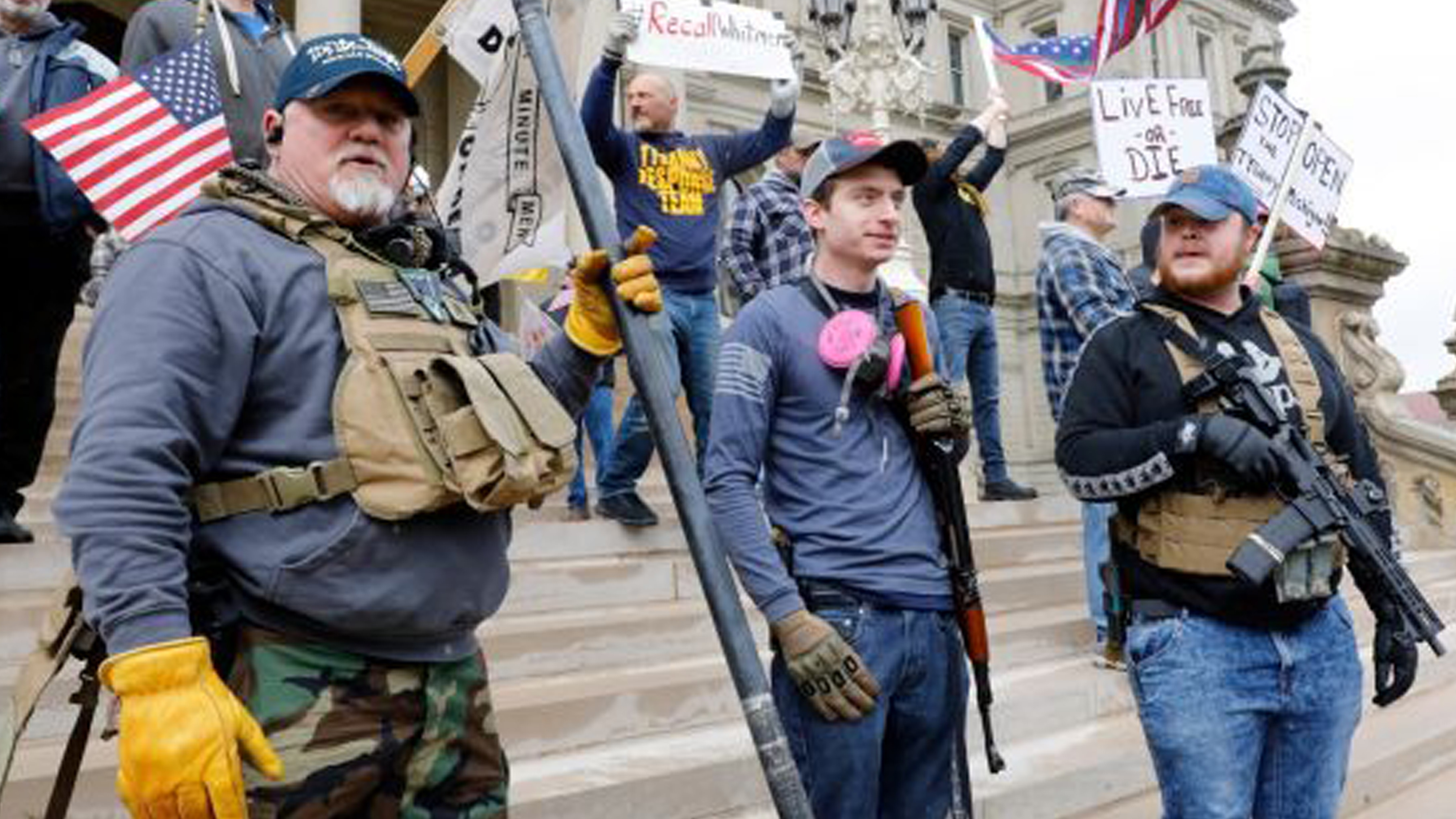 Michigan Commission Ban Open Carry of Firearms Inside State Capitol