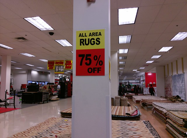 Oh, that's what they're called (area rugs)!