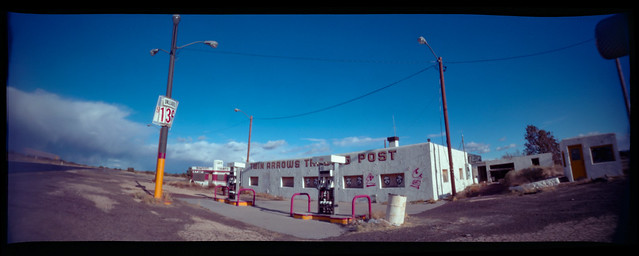pinhole / route 66. twin arrows, az. 2007.