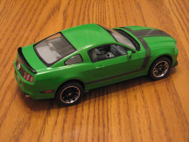 2013 Boss 302 Mustang Right Rear