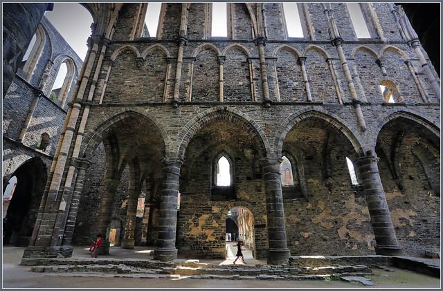Abbaye de Villers-la-Ville, Brabant wallon, Belgique