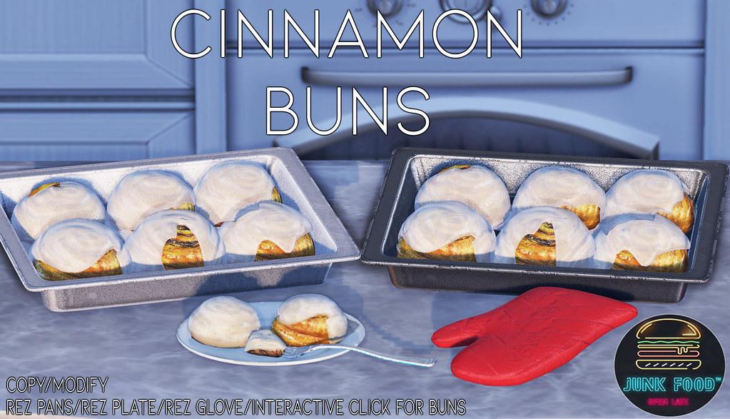 Junk Food – Cinnamon Bun Ad
