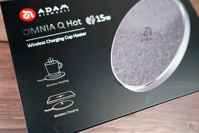 OMNIA Q Hot 無線充電加熱杯貼組