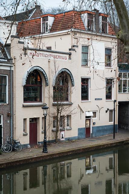 The Maastricht's Bierhuis on Twijnstraat aan de Werf, Utrecht