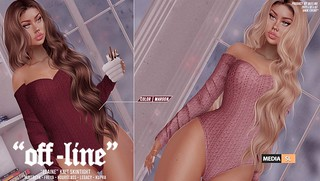 "⭐️ ""Off-Line"" x ""Elaine"" Knit Skintight – NEW ⭐️ 