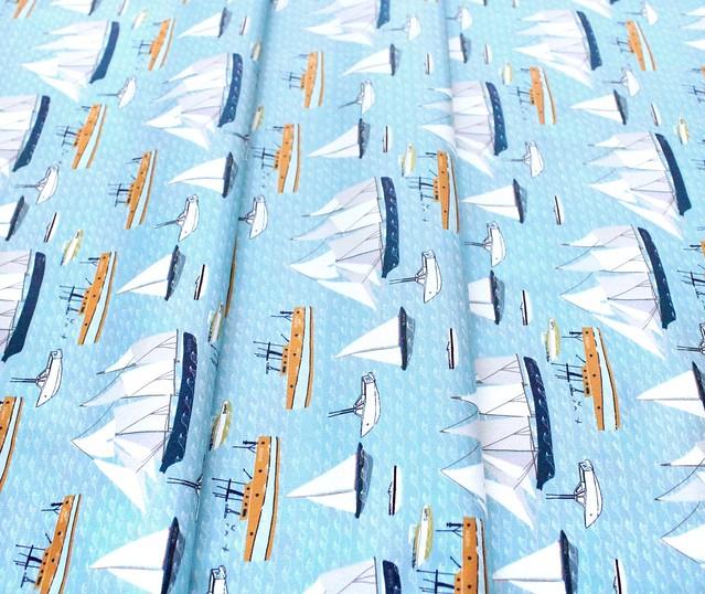 Moda Fabrics Lakeside Story 13352-17 Freshwater