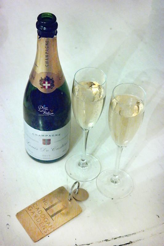no 11 cadogan gardens champagne