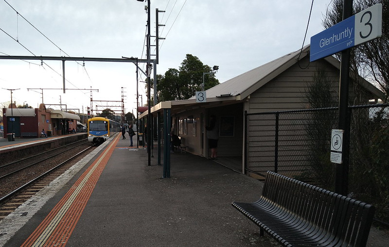 Glenhuntly station
