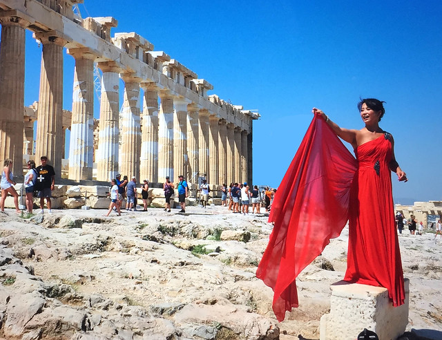 The Parthenon, Acropolis, Athens,Greece