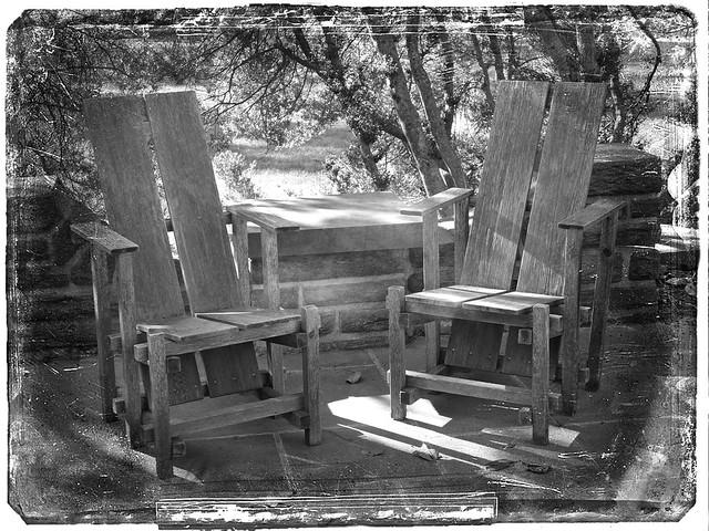 Handyman's Patio Chairs
