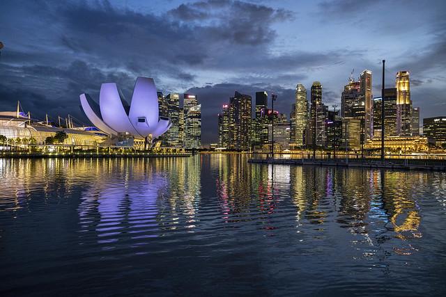 Dancing Lights in Singapore Marina Bay [On Explore 13 Jan 2021]