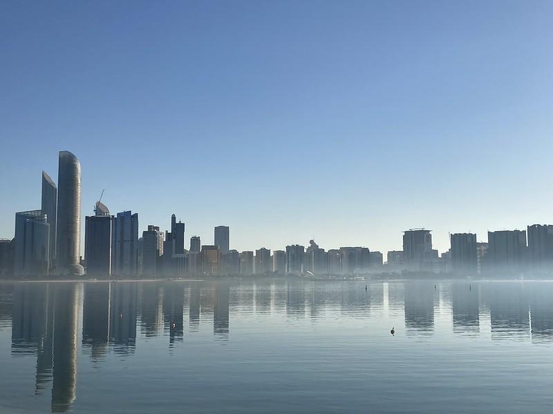 Abu Dhabi Breakwater - كاسر الامواج في أبوظبي