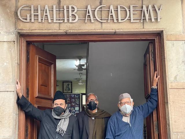 Delhi's Bandaged Heart - Ghalib's Coronavirus, Ghalib Academy
