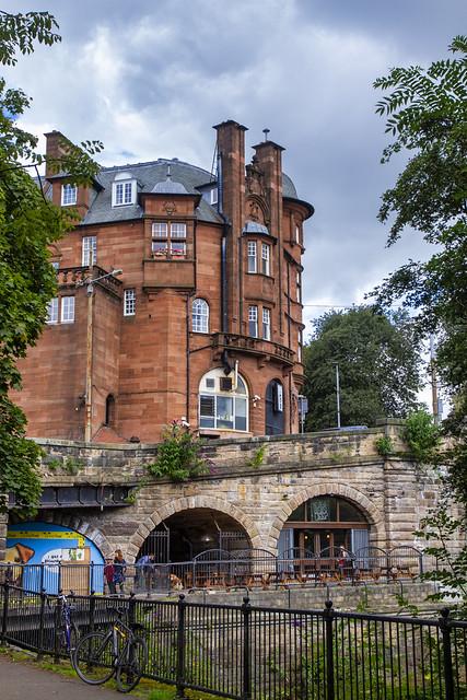 Caledonian Mansions, Kelvinbridge, Glasgow