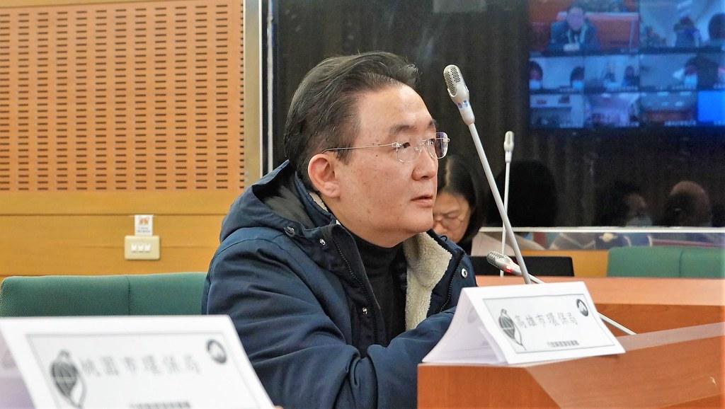台北市環保局局長劉銘龍親自出席《氣候法》研商會議,講了10多分鐘的意見。