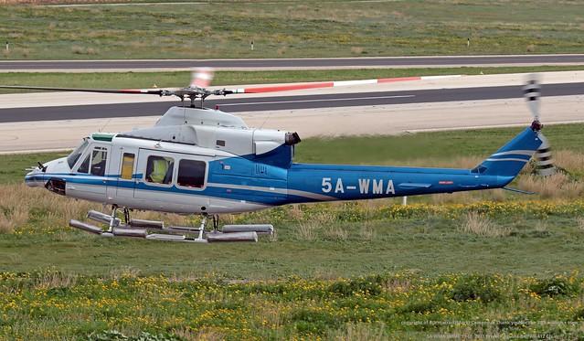 5A-WMA LMML 11-01-2021 Private Agusta-Bell AB-412 CN 25495