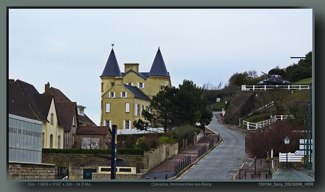 Calvados, Arromanches-les-Bains