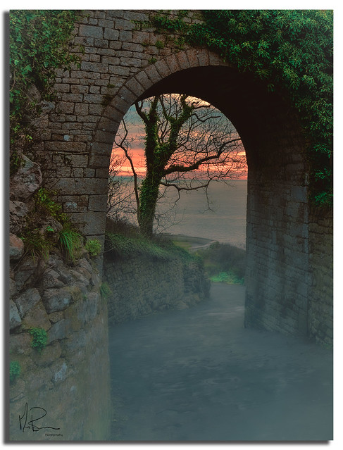 ''Archway to Pre dawn''