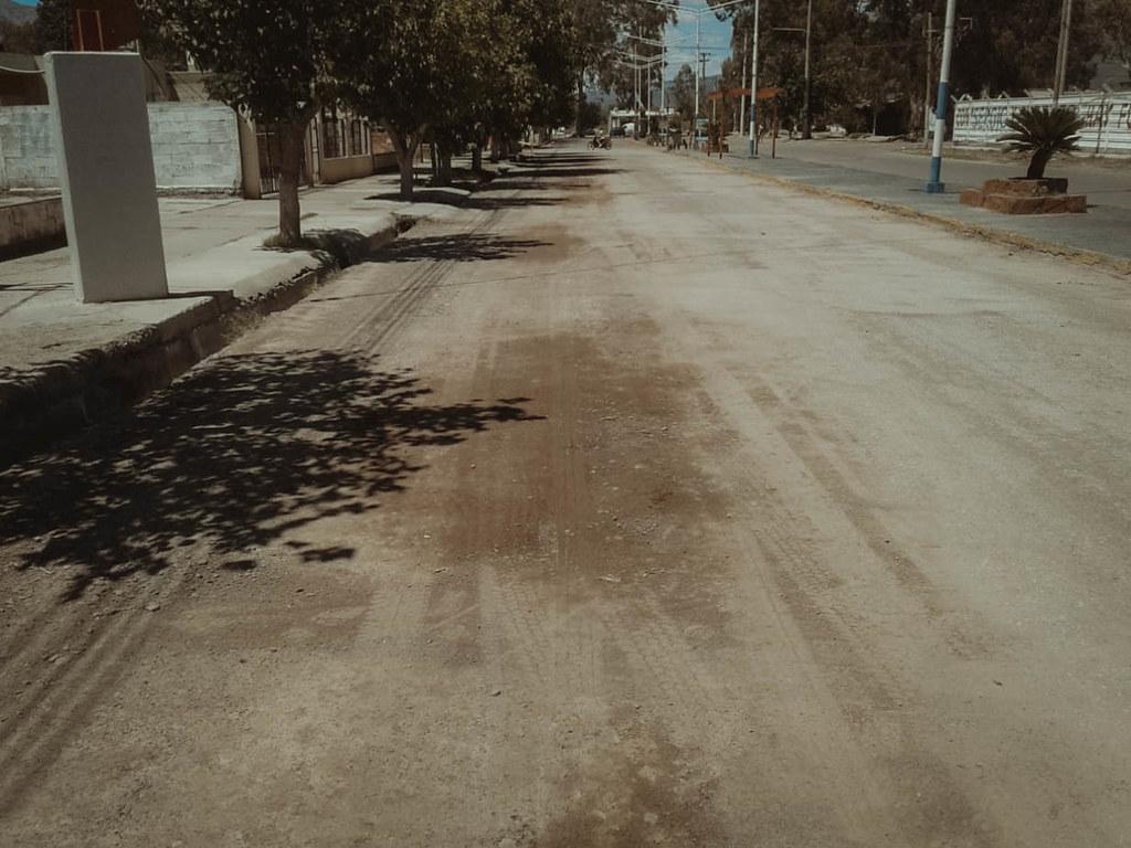 2021-01-12: OBRAS Y SERVICIOS PÚBLICOS: Vialidad Provincial ejecuta trabajos de repavimentación en Zonda