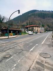 Vista del punto de unión entre Bizkaia y Gipuzkoa