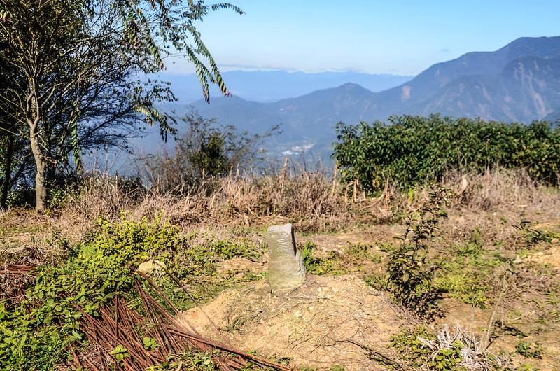 南雙龍冠字補川(05)山字森林三角點(Elev. 1290 m)