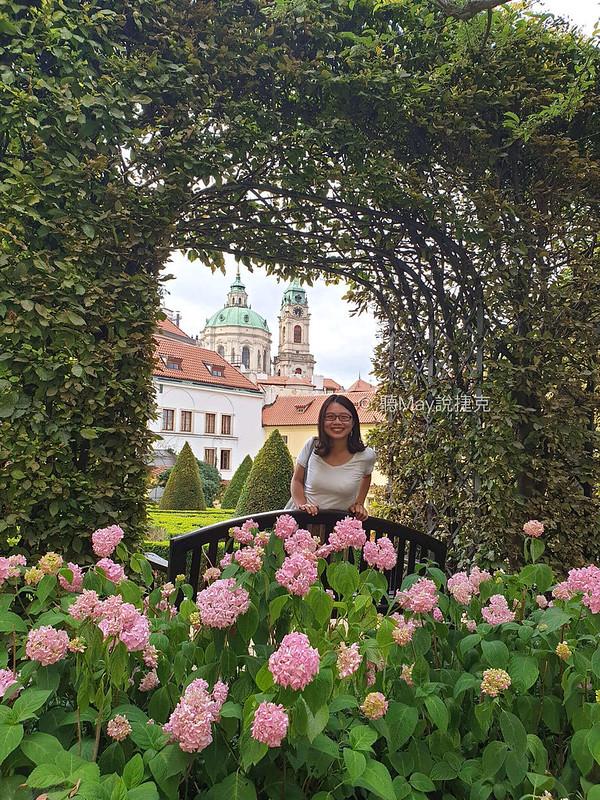 Vrtbovská zahrada summer