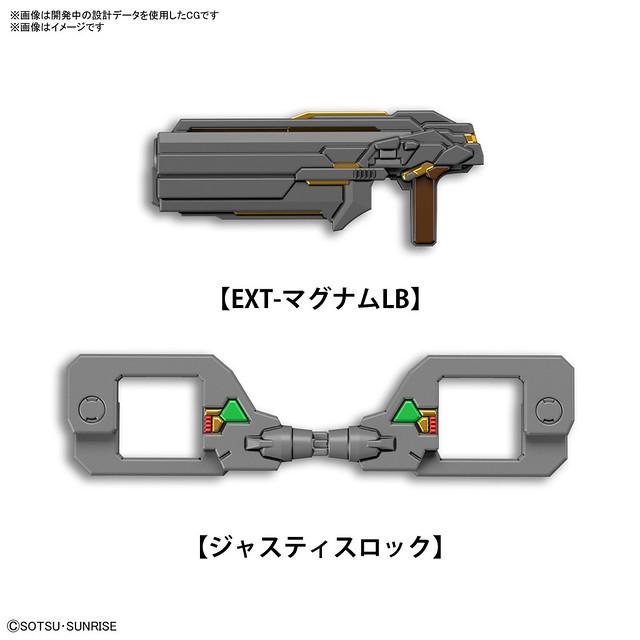 SDW HEROES《SD鋼彈世界 群英集》警官翠綠暴風鋼彈 04 月發售  配備特殊部隊專用武裝!