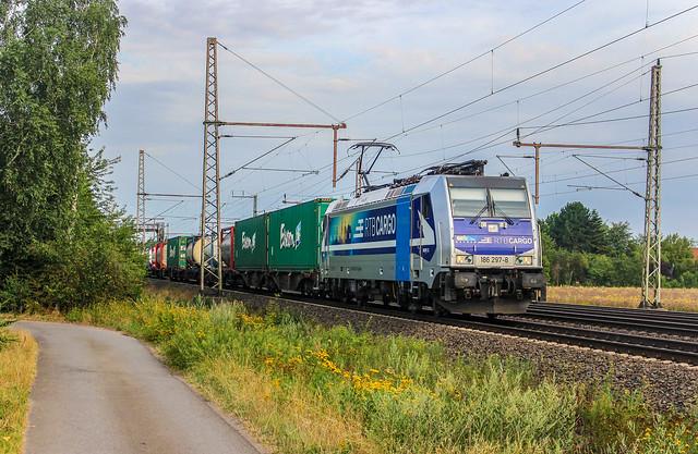 [Dedensen-Gümmer, Landschaftsstraße] RTB Cargo 186 297
