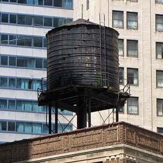 Water tower at 30 East Wacker Place
