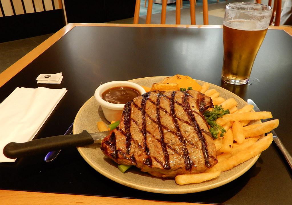 Rump Steak, Wentys, Wentworthville, NSW.