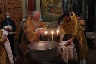 12.01.2021   Крещение в Иверском монастыре