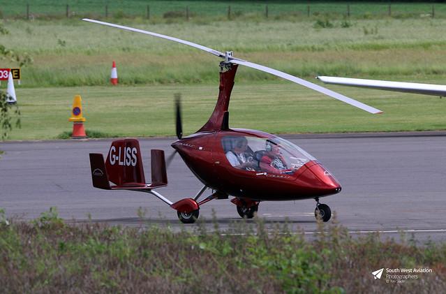 G-LISS Rotorsport UK Calidus 09, Gyronauts Flying Club Ltd, Turweston, Buckinghamshire
