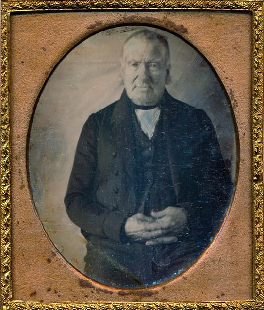 Eusebius Dodge, Daguerreotype, Circa 1845