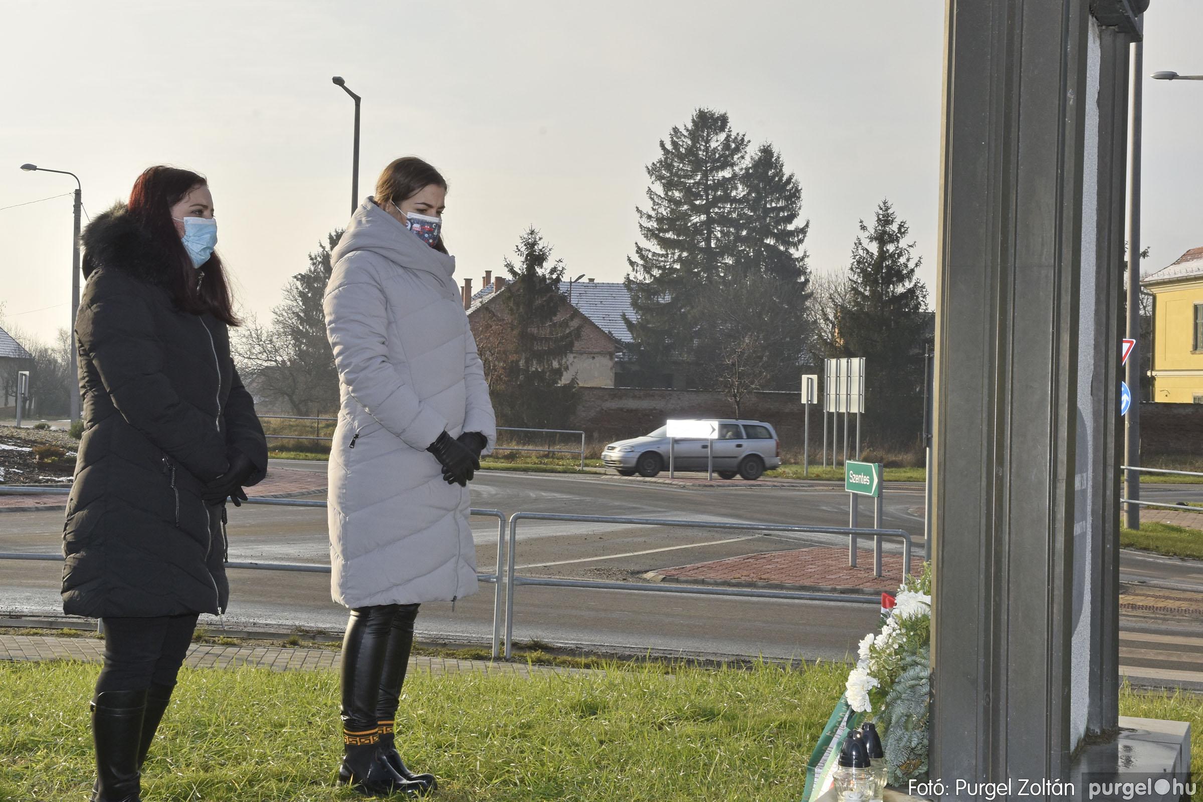 2021.01.12. 014 Megemlékezés a Doni katasztrófa hőseiről - Fotó: Purgel Zoltán© _DSC3655q
