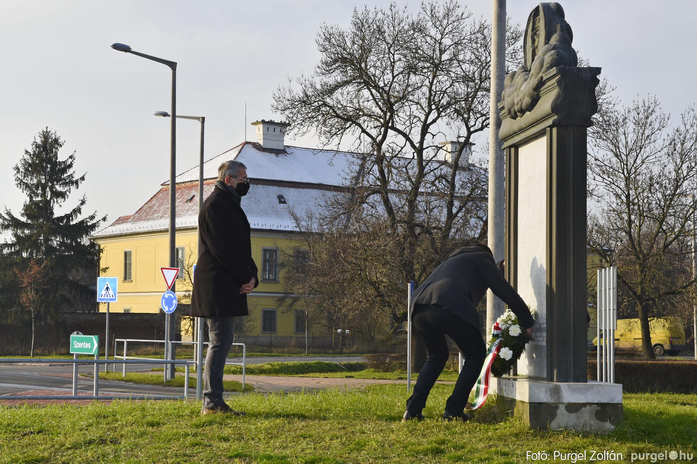 2021.01.12. 009 Megemlékezés a Doni katasztrófa hőseiről - Fotó: Purgel Zoltán© _DSC3649q (1)
