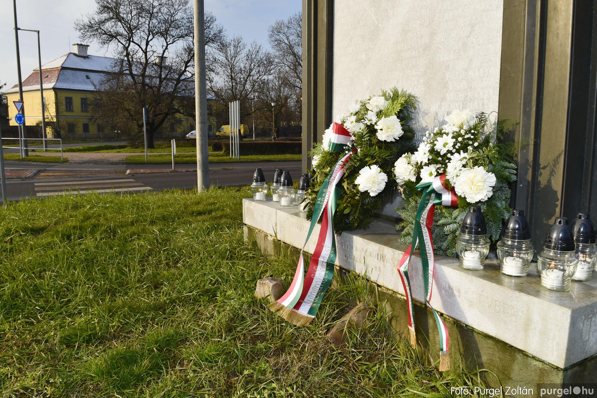 2021.01.12. 020 Megemlékezés a Doni katasztrófa hőseiről - Fotó: Purgel Zoltán© _DSC3669q