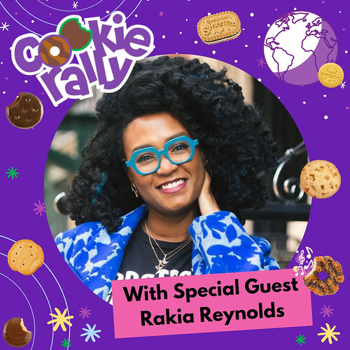 USAGSO's Cookie Rally Special Guest: Rakia Reynolds