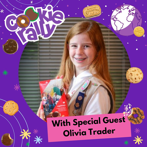 USAGSO's Cookie Rally Special Guest: Olivia Trader