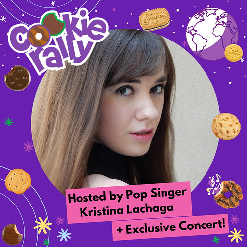 USAGSO's Cookie Rally Host & Musical Guest: Kristina Lachaga