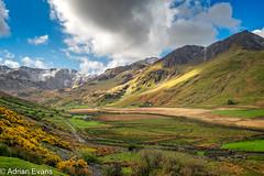 Nant Ffrancon Pass Snowdonia