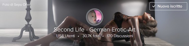 Second Life - German-Erotic-Art Group Cover