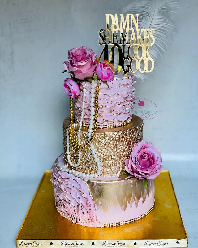 Cake by L'amour Sugar