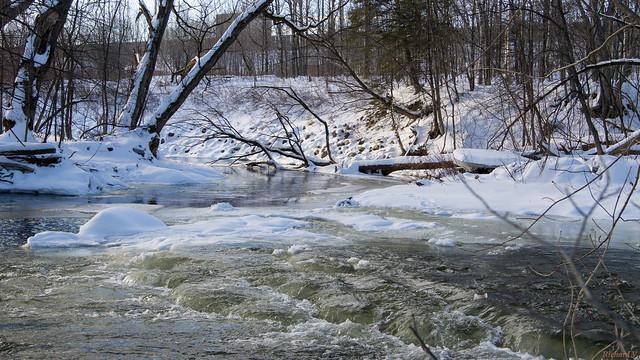 Rivière du Berger, Parc de l'Escarpement, Québec, Canada - 6014